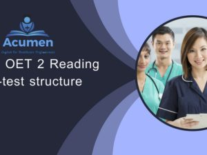 New OET 2 Reading Sub-test structure
