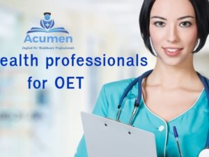 All health professionals for OET