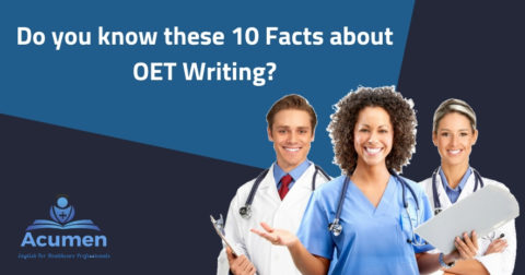 10 Facts about OET Writing